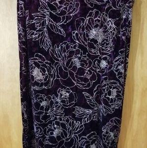 Like New Lularoe Elegant Ivy Skirt